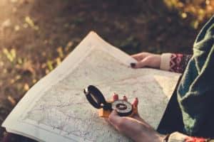 De weg vinden naar je doel